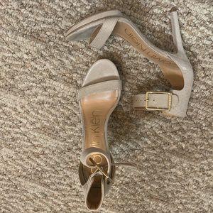 Nude Calvin Klein sandals